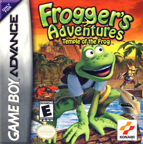 Frogger's Adventures: Temple of the Frog - Game Boy Advance (ACT, 2001, US )