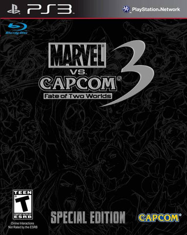Marvel vs. Capcom 3: Fate of Two Worlds (Special Edition) - PlayStation 3