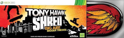 Tony Hawk: Shred (Bundle) - Xbox 360
