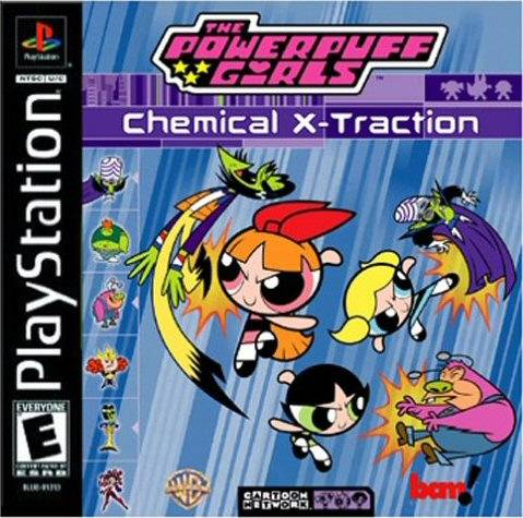 The Powerpuff Girls: Chemical X-Traction - PlayStation