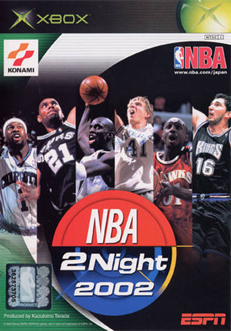 ESPN NBA 2Night 2002 - Xbox (Japan)