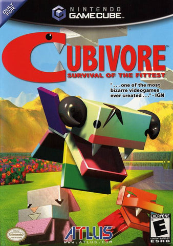 Cubivore: Survival of the Fittest - GameCube [USED]