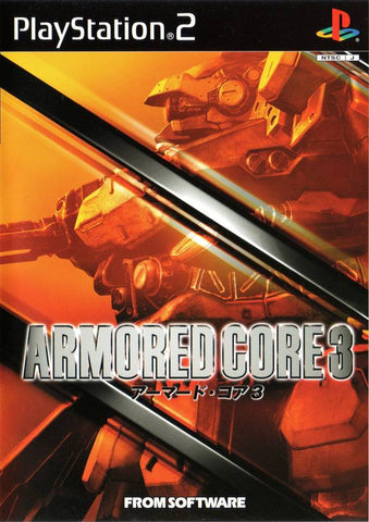 Armored Core 3 - PlayStation 2 (Japan)