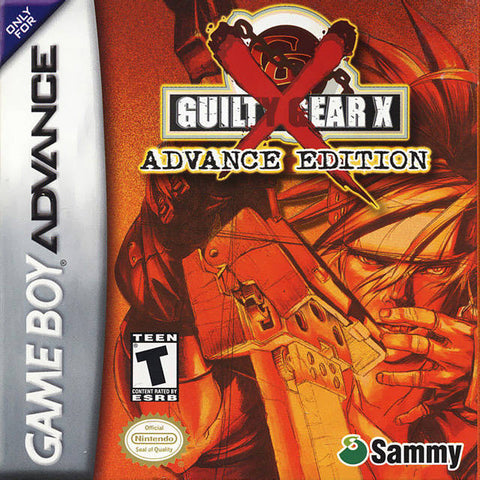 Guilty Gear X Advance Edition - Game Boy Advance [USED]