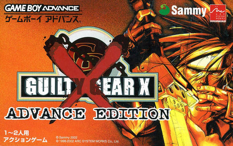 Guilty Gear X Advance Edition - Game Boy Advance (Fighting, 2002, JP )