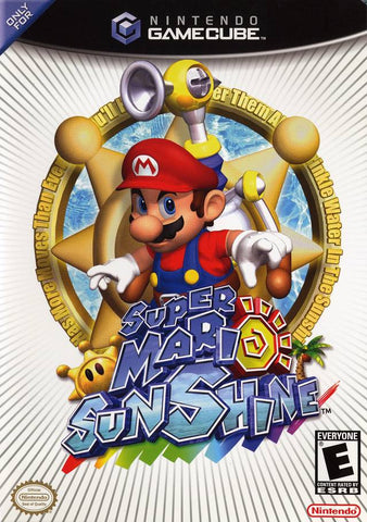 Super Mario Sunshine - GameCube [USED]
