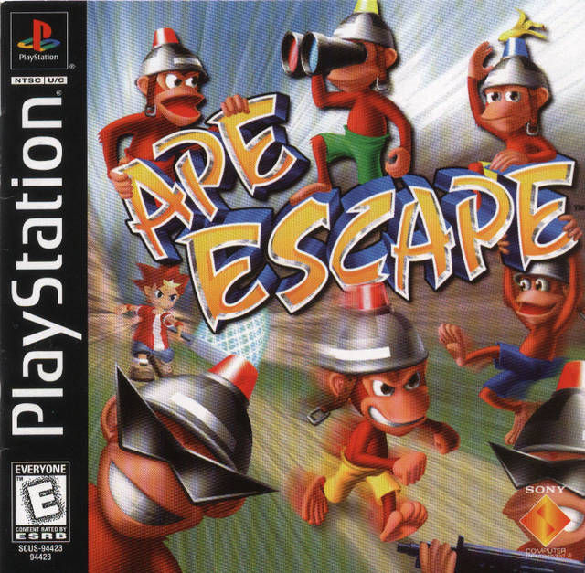 Ape Escape - PlayStation