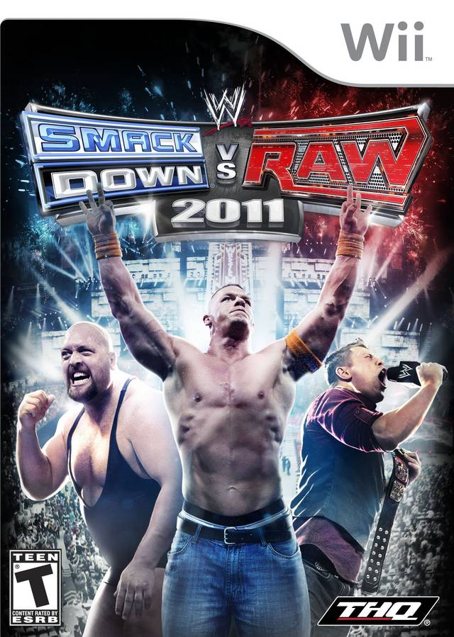 WWE SmackDown vs. Raw 2011 - Nintendo Wii [USED]