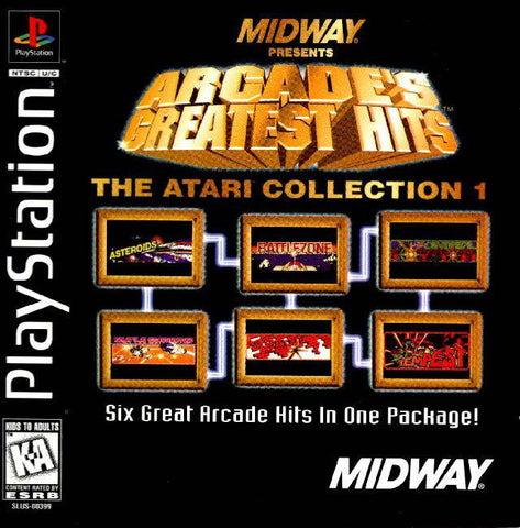 Midway Presents Arcade's Greatest Hits: The Atari Collection 1 - PlayStation