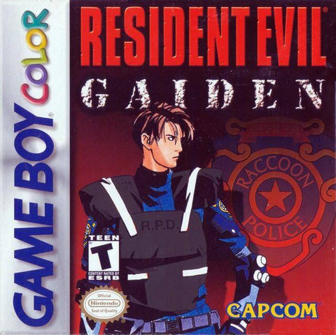 Resident Evil Gaiden - Game Boy Color [USED]