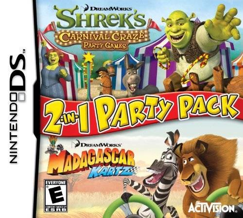 DreamWorks 2-in-1 Party Pack - Nintendo DS