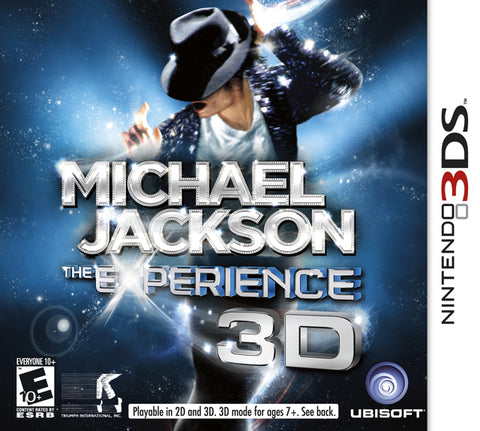 Michael Jackson The Experience - Nintendo 3DS [USED]