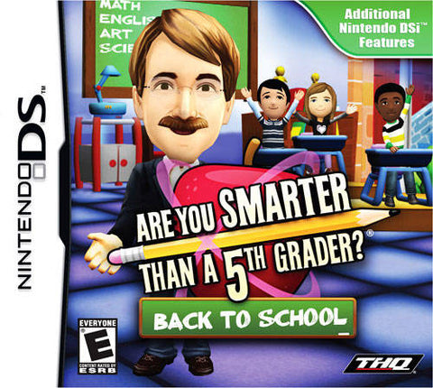 Are You Smarter Than a 5th Grader? Back to School - Nintendo DS