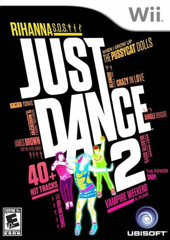 Just Dance 2 - Nintendo Wii [USED]