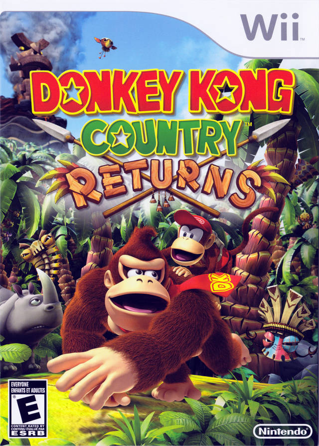 Donkey Kong Country Returns - Nintendo Wii [USED]