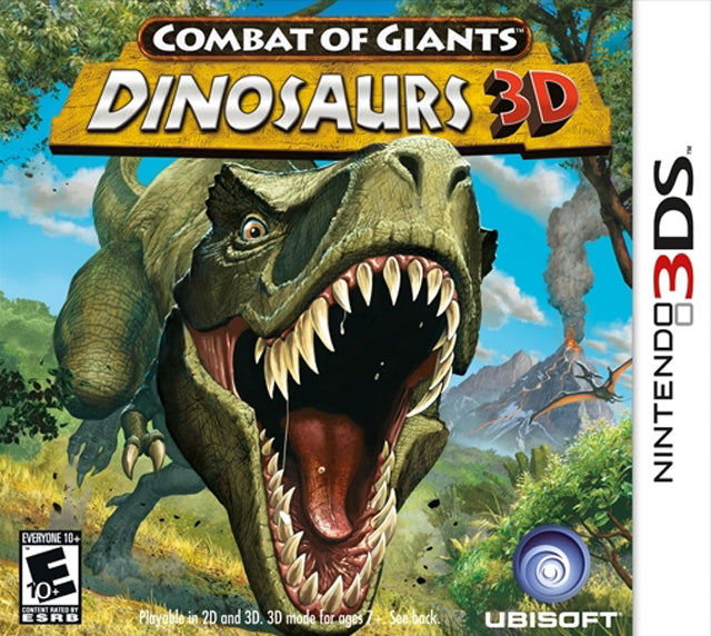 Combat of Giants: Dinosaurs 3D - Nintendo 3DS [USED]