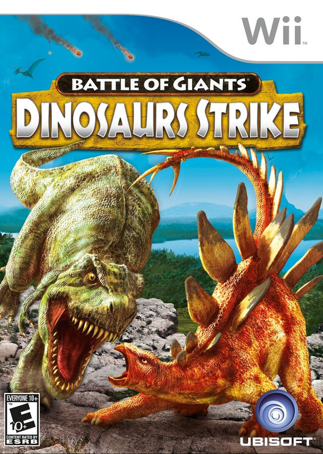 Battle of Giants: Dinosaurs Strike - Nintendo Wii [USED]