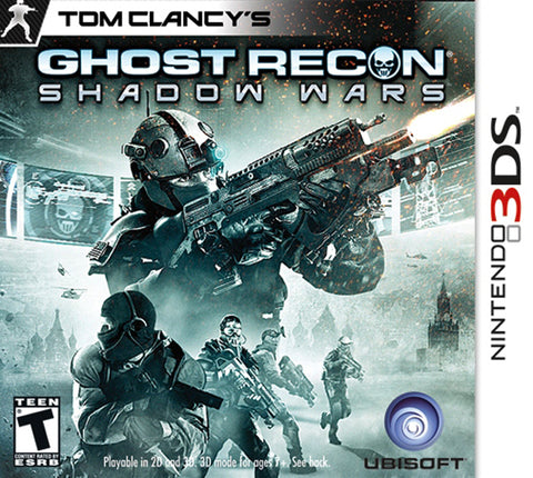 Tom Clancy's Ghost Recon: Shadow Wars - Nintendo 3DS [USED]