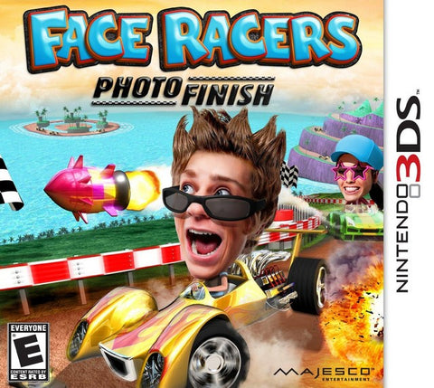 Face Racers: Photo Finish - Nintendo 3DS [USED]