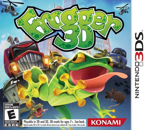 Frogger 3D - Nintendo 3DS [NEW]
