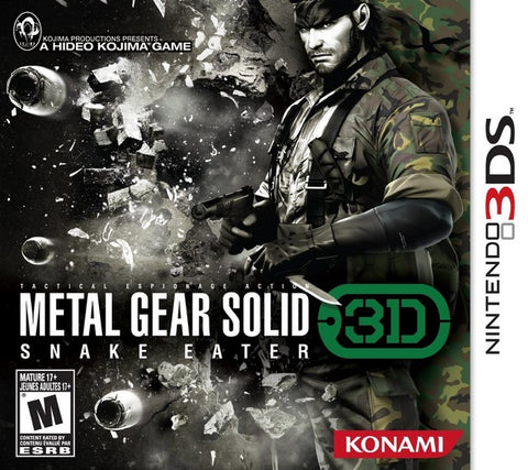 Metal Gear Solid: Snake Eater 3D - Nintendo 3DS [USED]