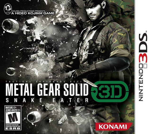 Metal Gear Solid: Snake Eater 3D - Nintendo 3DS [NEW]
