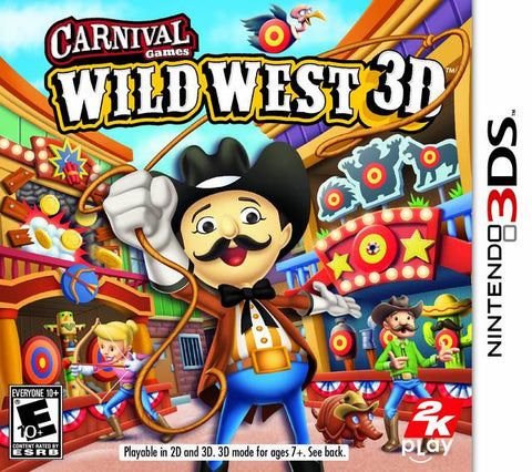 Carnival Games: Wild West 3D - Nintendo 3DS [USED]