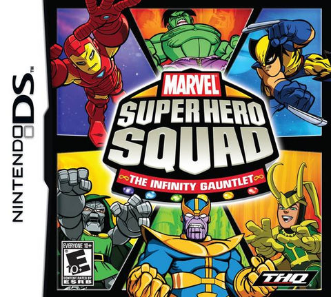 Marvel Super Hero Squad: The Infinity Gauntlet - Nintendo DS