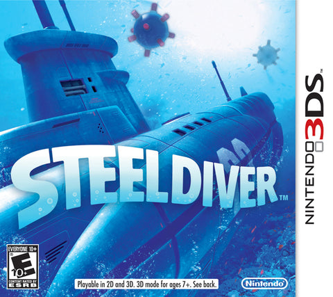 Steel Diver - Nintendo 3DS [USED]