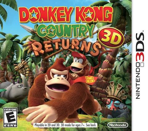 Donkey Kong Country Returns 3D - Nintendo 3DS [USED]