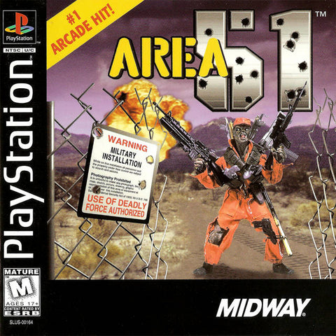 Area 51 - PlayStation