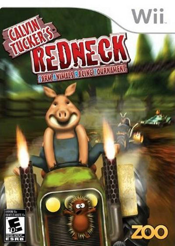Calvin Tucker's Redneck: Farm Animals Racing Tournament - Nintendo Wii [USED]