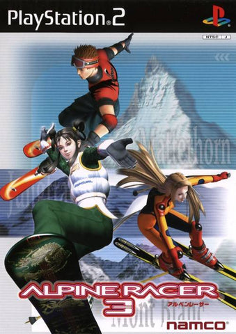 Alpine Racer 3 - PlayStation 2 (Japan)