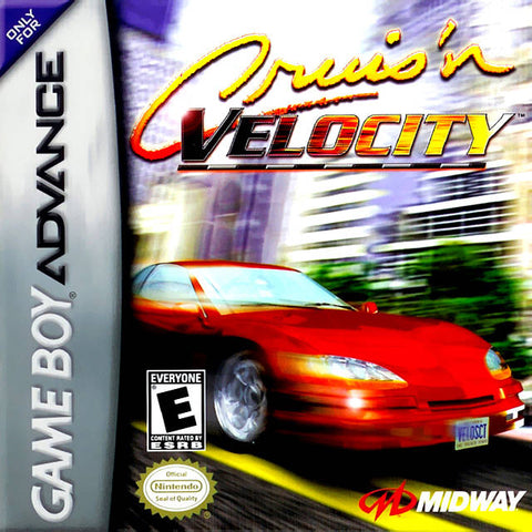 Cruis'n Velocity - Game Boy Advance (Racing, 2001, US )