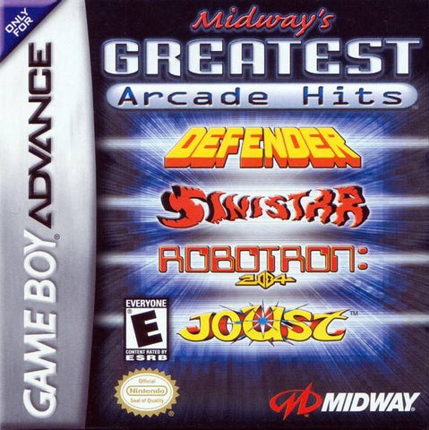 Midway's Greatest Arcade Hits - Game Boy Advance [USED]