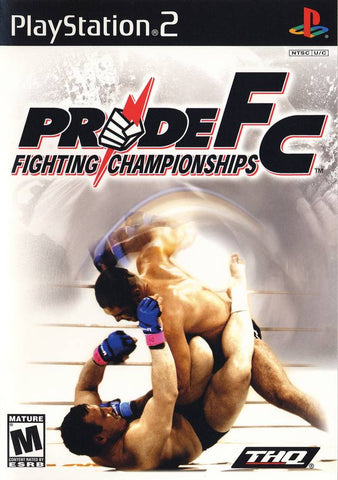 Pride FC: Fighting Championships - PlayStation 2