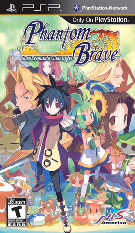 Phantom Brave: The Hermuda Triangle - PSP