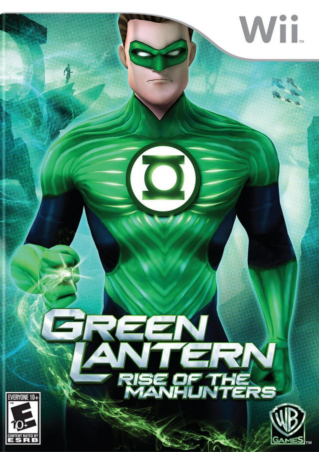Green Lantern: Rise of the Manhunters - Nintendo Wii [USED]