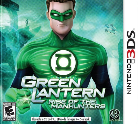 Green Lantern: Rise of the Manhunters - Nintendo 3DS [USED]