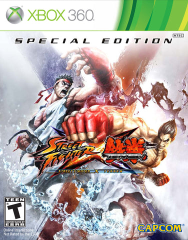 Street Fighter X Tekken (Special Edition) - Xbox 360