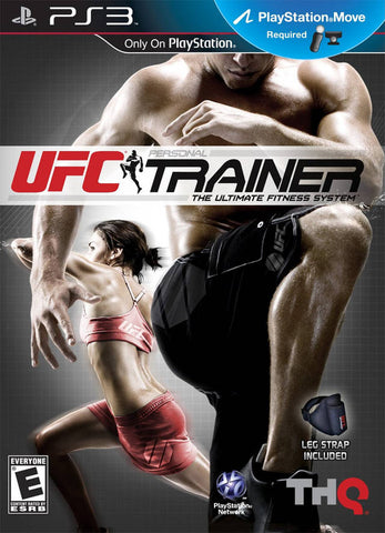 UFC Personal Trainer: The Ultimate Fitness System - PlayStation 3