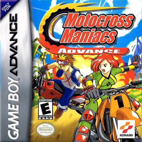Motocross Maniacs Advance - Game Boy Advance [USED]