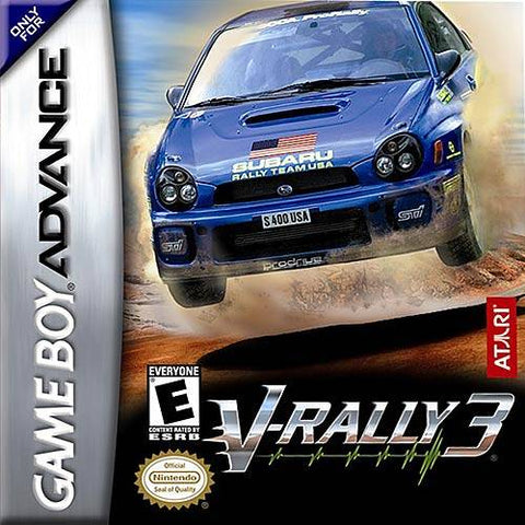 V-Rally 3 - Game Boy Advance [USED]
