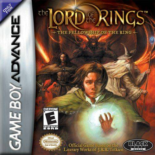 The Lord of the Rings: The Fellowship of the Ring - Game Boy Advance (Action & Adv, 2002, US )