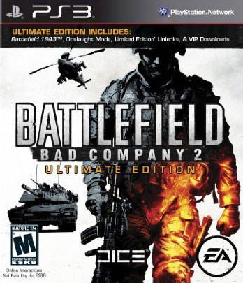 Battlefield: Bad Company 2 Ultimate Edition - PlayStation 3