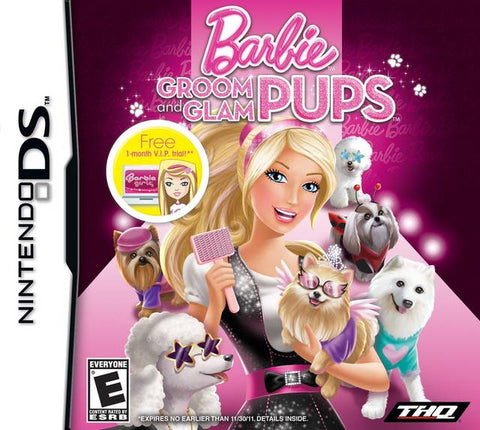 Barbie: Groom and Glam Pups - Nintendo DS