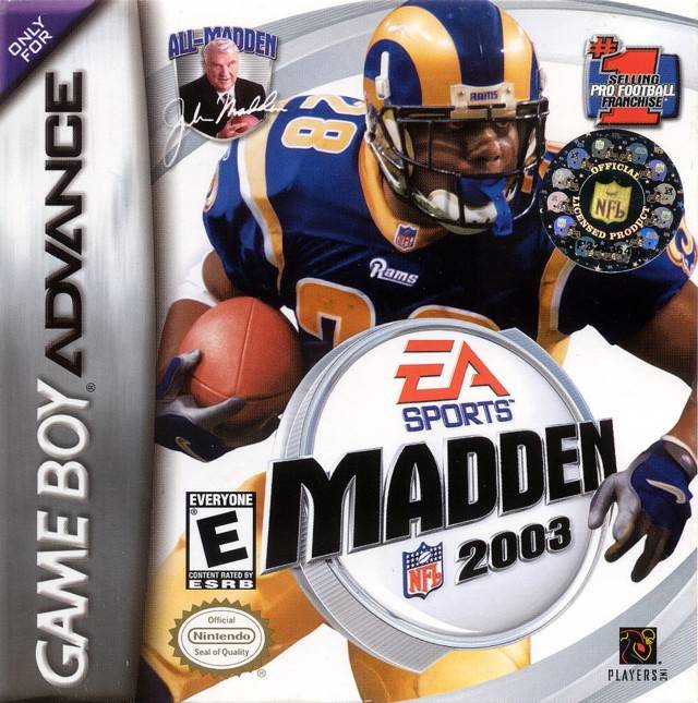 Madden NFL 2003 - Game Boy Advance (Sports, 2002, US )
