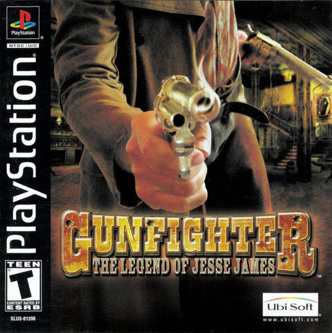 Gunfighter: The Legend of Jesse James - PlayStation