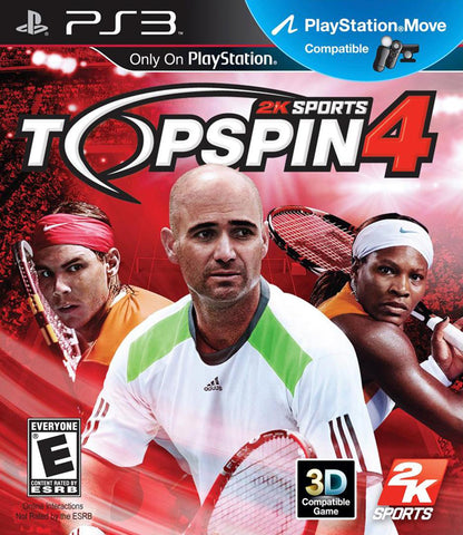 Top Spin 4 - PlayStation 3