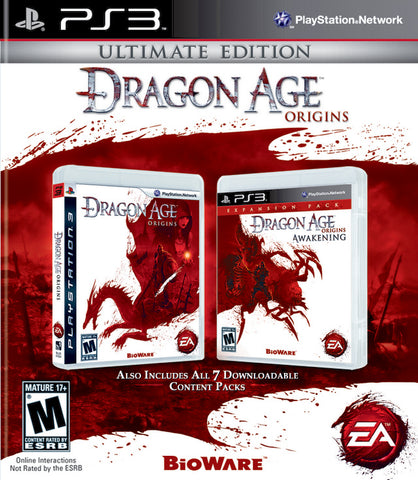 Dragon Age: Origins - Ultimate Edition - PlayStation 3
